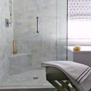 Corner Shower Bench, Transitional, Bathroom, The Ace of Space