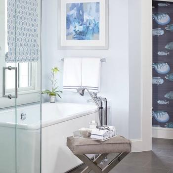 Corner Water Closet, Transitional, Bathroom, The Ace of Space