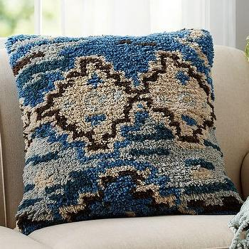 Cape Handknotted Pillow Cover