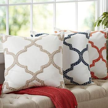 Dearsley Embroidered Pillow Cover
