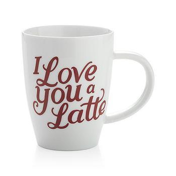 I Love You a Latte Mug