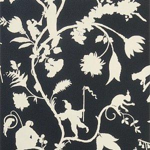 Stroheim CLAYFIELD NONWOVEN Ebony Wallpaper