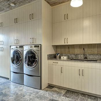 Rustic Laundry Rooms, Country, Laundry Room, John Hummel