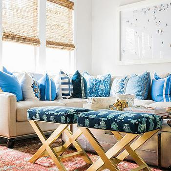 Gold X Bench, Transitional, Bedroom, Waiting on Martha