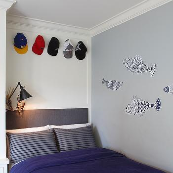 Kids Bed in Nook, Contemporary, Boy's Room, Artistic Designs for Living