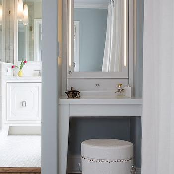 Make Up Vanity Alcove, Transitional, Closet, Artistic Designs for Living