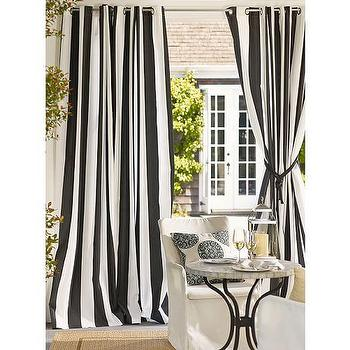 Indoor/Outdoor Grommet Drape