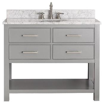 Avanity Brooks Chilled Grey 42-inch Vanity Combo