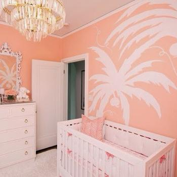 Hollywood Regency Nursery, Contemporary, Nursery, Sherwin Williams Jovial, Luxe Report