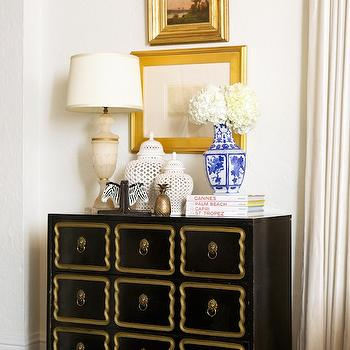 Dorothy Draper Chest, Transitional, Entrance/foyer, Luxe Report