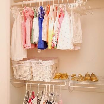Nursery Closet Ideas, Transitional, Nursery, Luxe Report