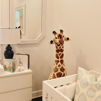 Nursery Giraffe, Transitional, Nursery, Luxe Report