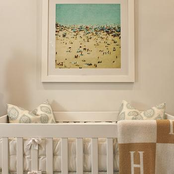 Hermes Style Blanket, Transitional, Nursery, Luxe Report