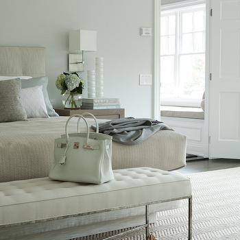 Beige andBlue Bedrooms, Transitional, Bedroom, Weitzman Halpern Design