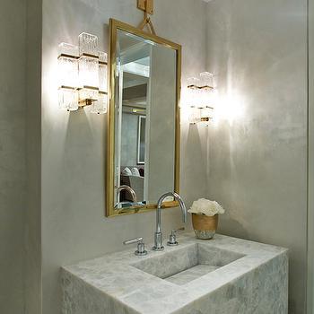Onyx Bathroom Vanity, Contemporary, Bathroom, Weitzman Halpern Design