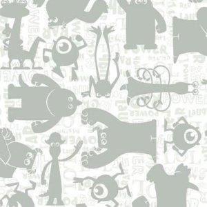 Sure Strip GRAPHIC MONSTERS SIDEWALL DS7752 Wallpaper
