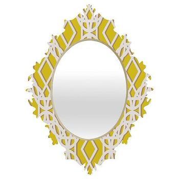 Diamonds Baroque Mirror