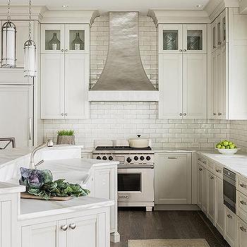 Hammered Kitchen Hood, Transitional, Kitchen