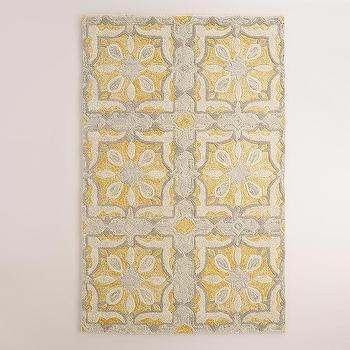 Soleil Tile Tufted Wool Area Rug