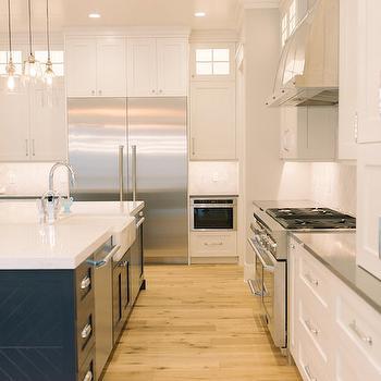 Double Door Refrigerator, Transitional, Kitchen