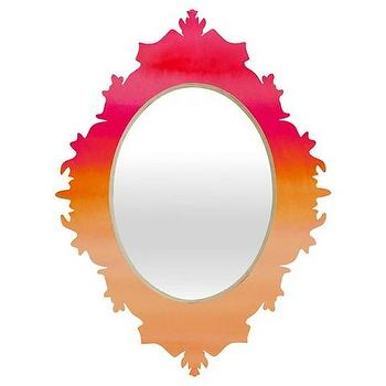 Blooming Wake Baroque Mirror