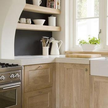Light Wood Kitchen Cabinets, Transitional, Kitchen