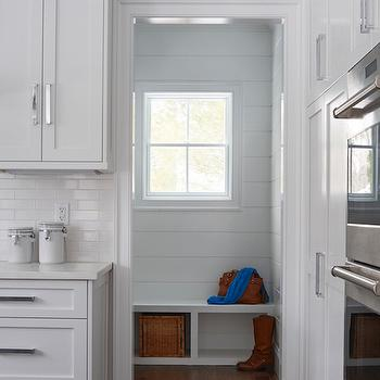 Mudroom Next to Kitchen, Transitional, Laundry Room