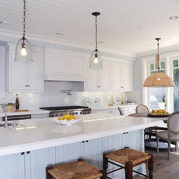 Eat In Kitchen with Round Dining Tables, Transitional, Kitchen