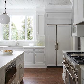 White Kitchen Design, Transitional, Kitchen