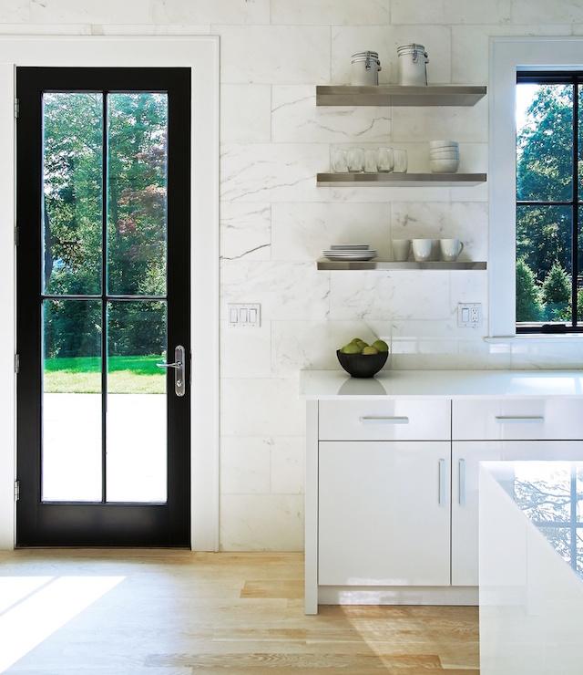 Floating Kitchen Shelves: Stainless Steel Floating Kitchen Shelves