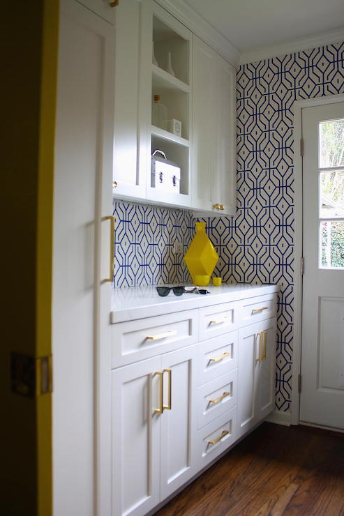Wallpaper for Laundry Rooms, Contemporary, Laundry Room