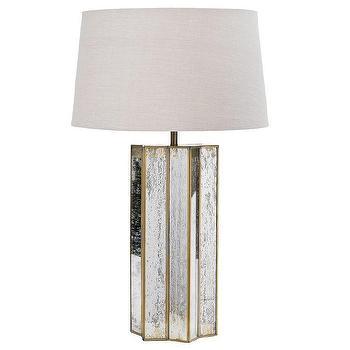 Regina Andrew Lighting Star Shaped Antique Mercury Table Lamp