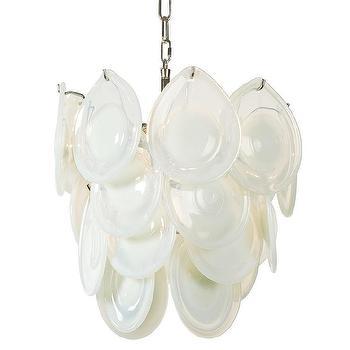 Regina Andrew Lighting Diva White Opal Mini Chandelier