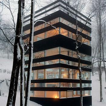 Glass Home Exterior, Modern, Home Exterior