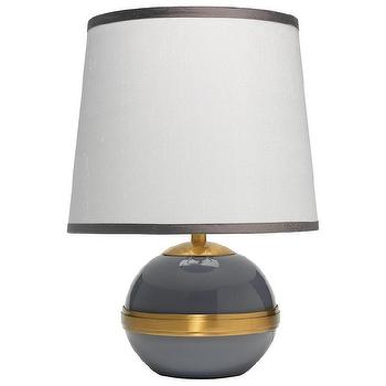 Jamie Young Stockholm Dove Gray Accent Table Lamp