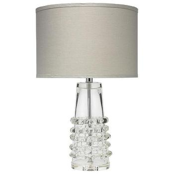 Jamie Young Ribbon Clear Tall Table Lamp