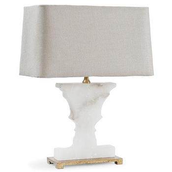 Regina Andrew Lighting Alabaster Gold Urn Mini Table Lamp