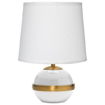 Jamie Young Stockholm White Accent Table Lamp