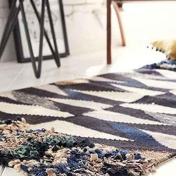 New Friends For UO Facets Woven Rug, Urban Outfitters