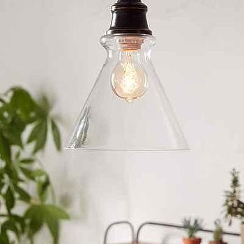 Simple Cone Pendant Light, Urban Outfitters