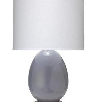 "Jamie Young Company Small Egg 20"" H Table Lamp with Drum Shade"