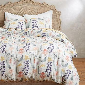 Brushed Orchids Duvet
