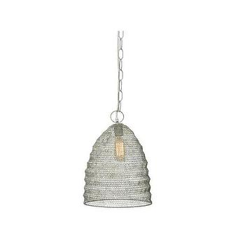 Jamie Young Company Spring Weave Beehive 1 Light Mini Pendant