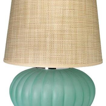 "Jamie Young Company Fluted Ball 25"" H Table Lamp with Empire Shade"