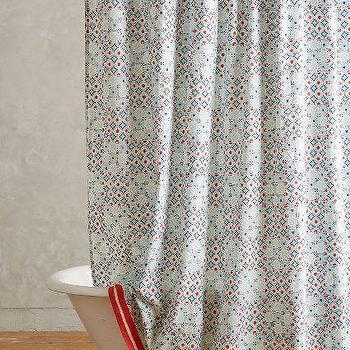 Piastrella Shower Curtain