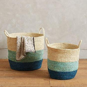 Handmade Grass Baskets