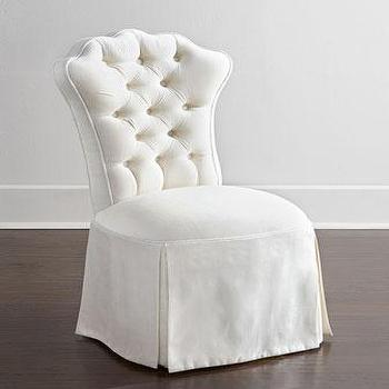 Haute House Allison Tufted Vanity Chair