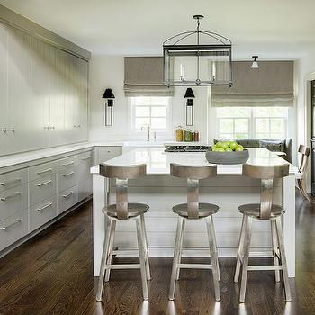 T back Barstools, Transitional, Kitchen