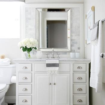 Double Abrams Sconce, Transitional, Bathroom, Benjamin Moore Pale Oak