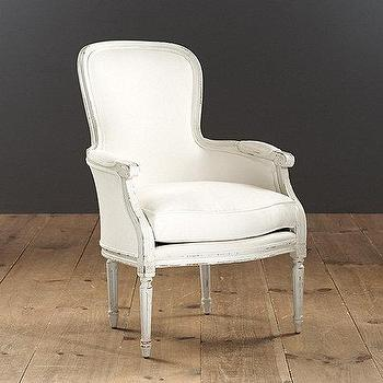 Olivia Chair, Louis Bergere beech wood Chair